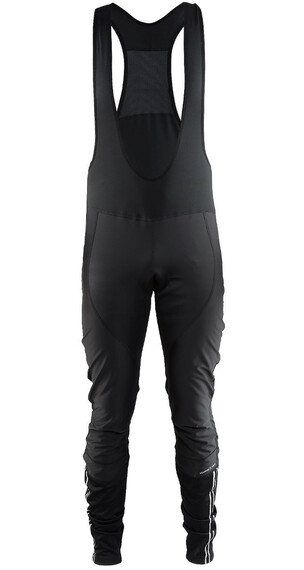 Craft Velo Thermal Wind Spodnie na szelki Mężczyźni czarny